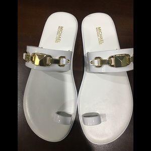New w/out box white jelly Michael kors